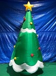 11' Gemmy Airblown Inflatable Giant Christmas Tree
