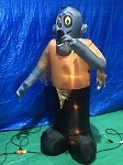6' Gemmy Airblown Animated Inflatable Shaking Zombie