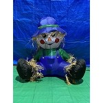 3 1/2' Air Blown Inflatable Thanksgiving Scarecrow Boy